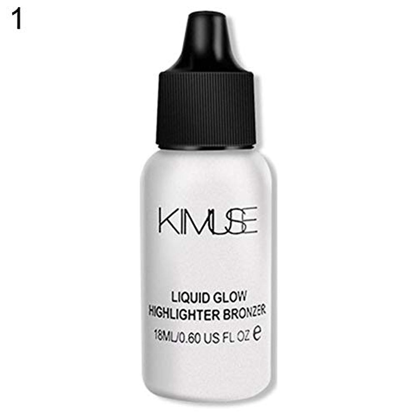 含む許可やけど3D液体顔輪郭ファンデーション蛍光ペンオイルコントロールメイク - 1