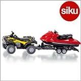 Siku(ジク)社 輸入ミニカー 2314 バギー with ジェットスキー 1/50