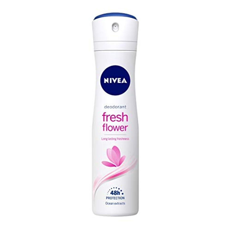 クラフトメモ成分Nivea Fresh Flower Deodorant For Women, 150ml