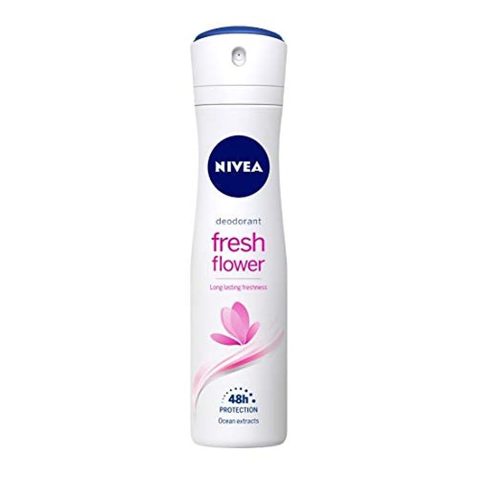 ようこそ事実ガロンNivea Fresh Flower Deodorant For Women, 150ml