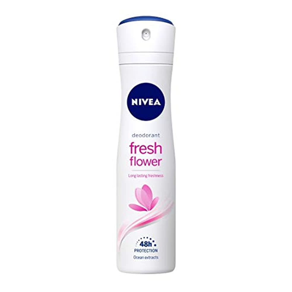 苦いジョリー検出するNivea Fresh Flower Deodorant For Women, 150ml