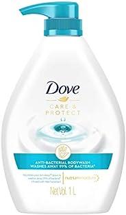 Dove Anti-Bacterial Care & Protect Body Wash, 1 li