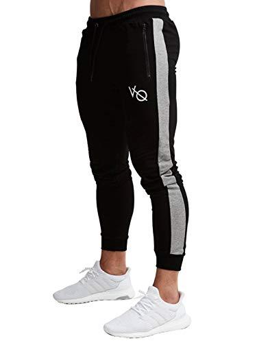 (ビベター)Bebetter ジョガーパンツ メンズ スキニー ロングパンツ ファスナー付き スリム スポーツ スウェット トレーニングウェア M