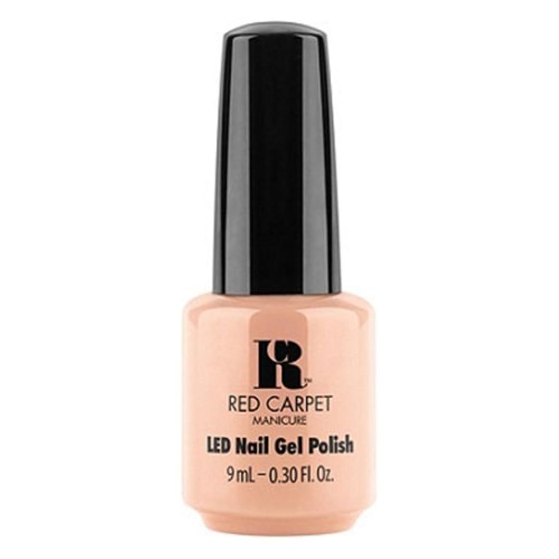 援助嫌い溶接Red Carpet Manicure - LED Nail Gel Polish - Can't Stop. Won't Stop. - 0.3oz / 9ml