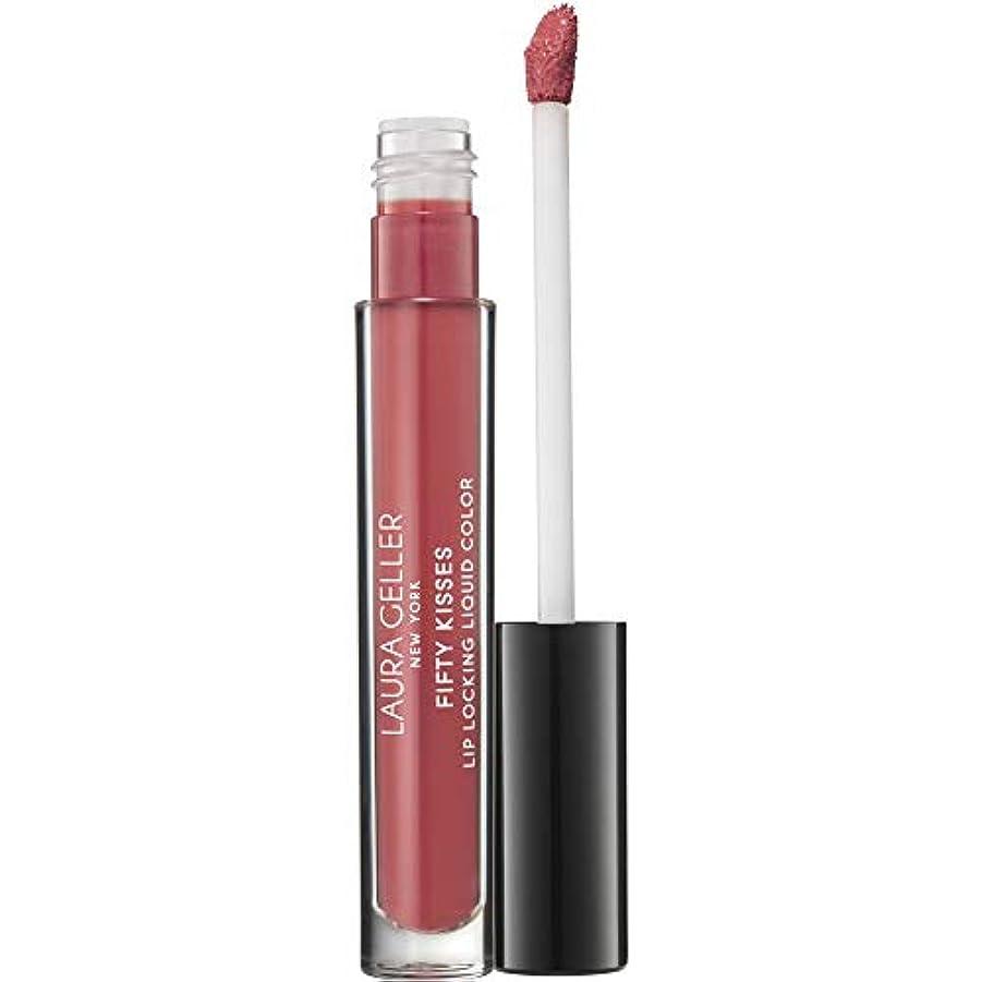 修正安全なインフレーション[Laura Geller] バラを魅惑的な液体の色の3ミリリットルをロックローラ・ゲラー50回のキスリップ - Laura Geller Fifty Kisses Lip Locking Liquid Color 3ml...