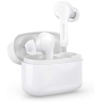Anker Soundcore Liberty Air(Bluetooth 5.0 完全ワイヤレスイヤホン)【PSE認証済 / 最大20時間音楽再生 / Siri対応/グラフェン採用ドライバー/マイク内蔵 / IPX5防水規格 】(ホワイト)