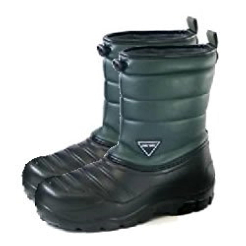 涙たっぷり禁止する阪神素地 かるぬく 超軽量防寒ブーツ N2511 カーキ M:25.0cm