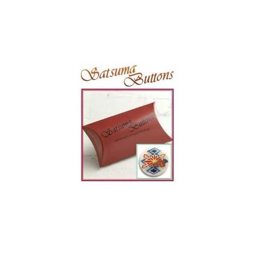 SatsumaButtons(薩摩ボタン)サツマボタン(15mm)単品【三階菱菊】SBB1-102 (15mm)