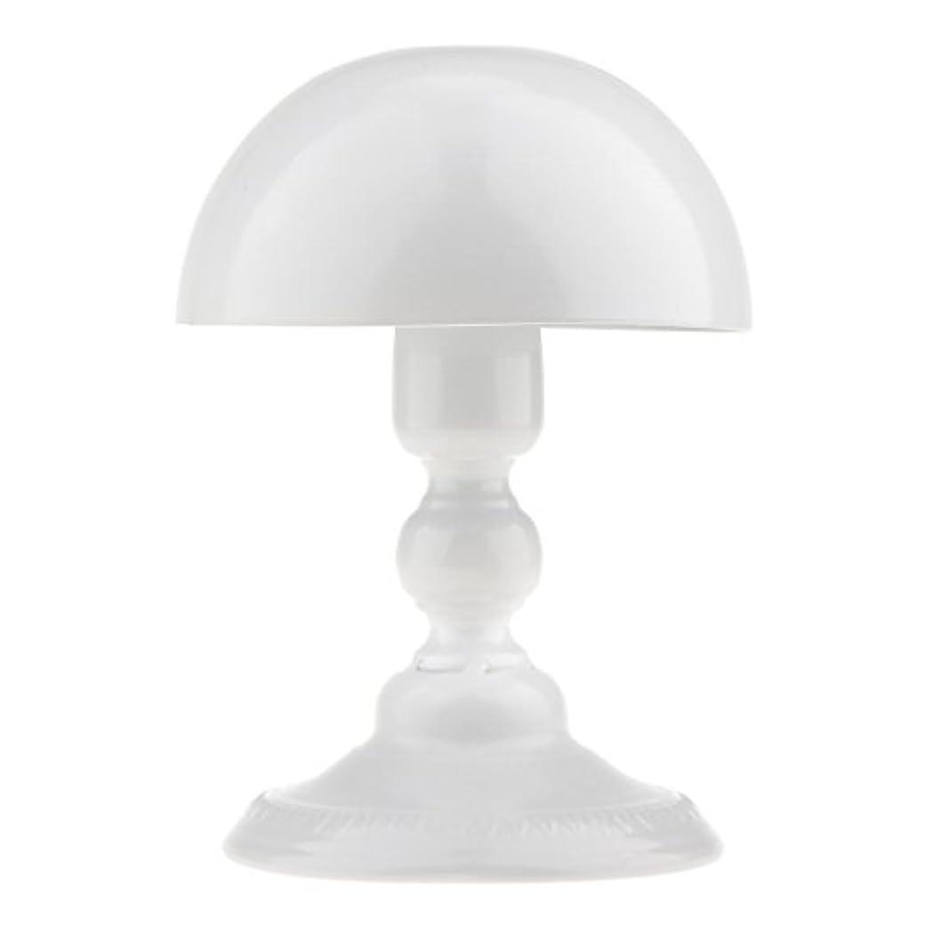 を通して荒涼としたミケランジェロToygogo アイロン製 ウィッグスタンド 帽子スタンド かつらホルダー 収納 ディスプレイ 全3色 - ホワイト