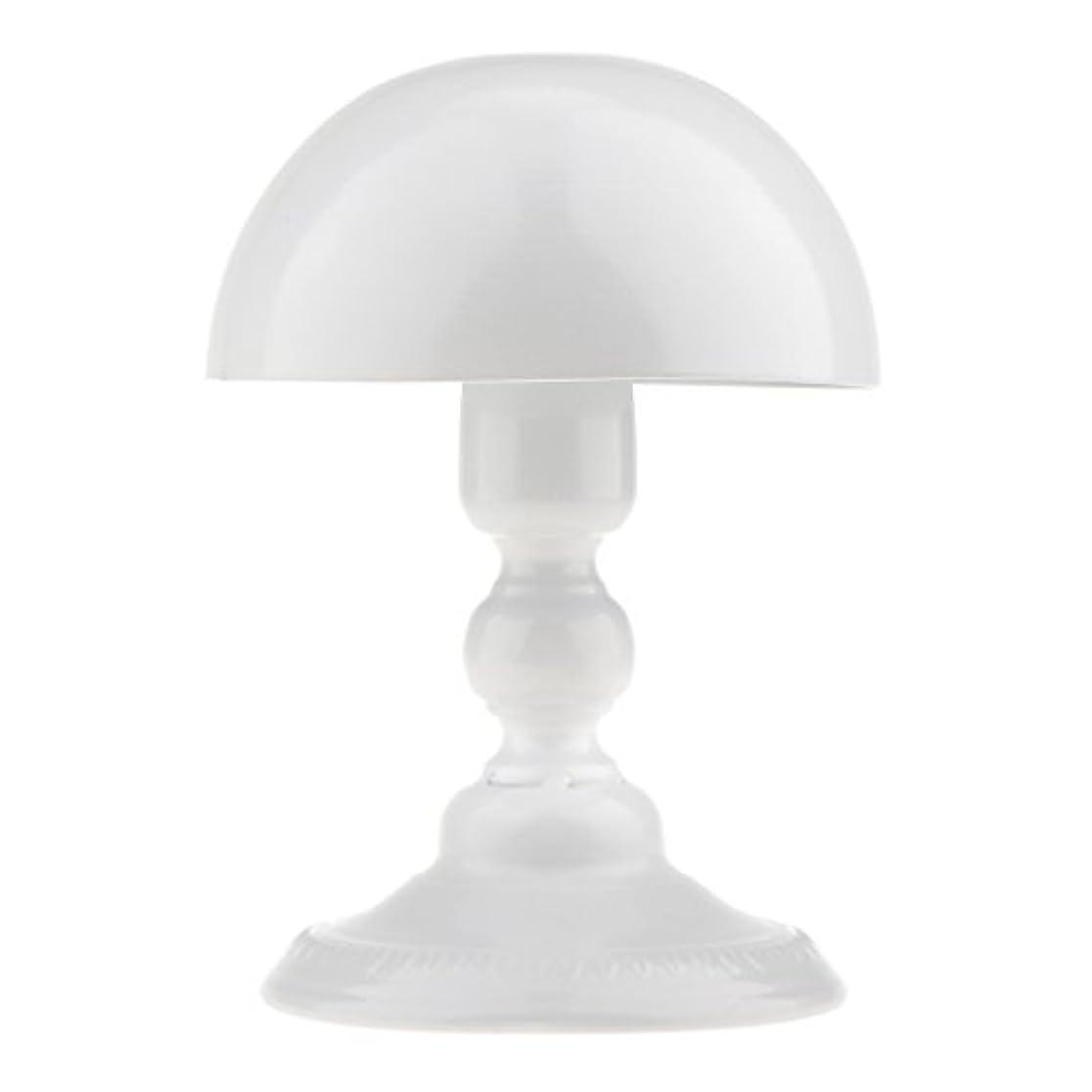 つまらない自信があるスクランブルToygogo アイロン製 ウィッグスタンド 帽子スタンド かつらホルダー 収納 ディスプレイ 全3色 - ホワイト