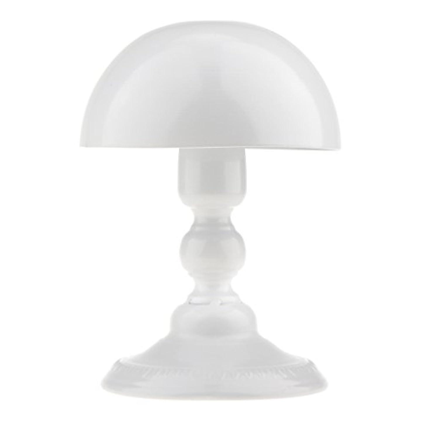 代替案状況ファンシーToygogo アイロン製 ウィッグスタンド 帽子スタンド かつらホルダー 収納 ディスプレイ 全3色 - ホワイト