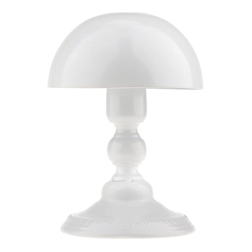 真面目な笑敬意を表するToygogo アイロン製 ウィッグスタンド 帽子スタンド かつらホルダー 収納 ディスプレイ 全3色 - ホワイト