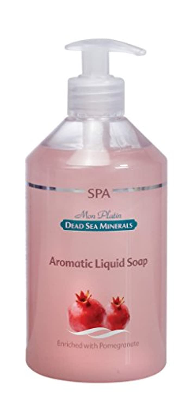 器具酸ストラトフォードオンエイボンザクロ香料の石鹸液 500mL 死海ミネラル Aromatic liquid soap with Pomegrante