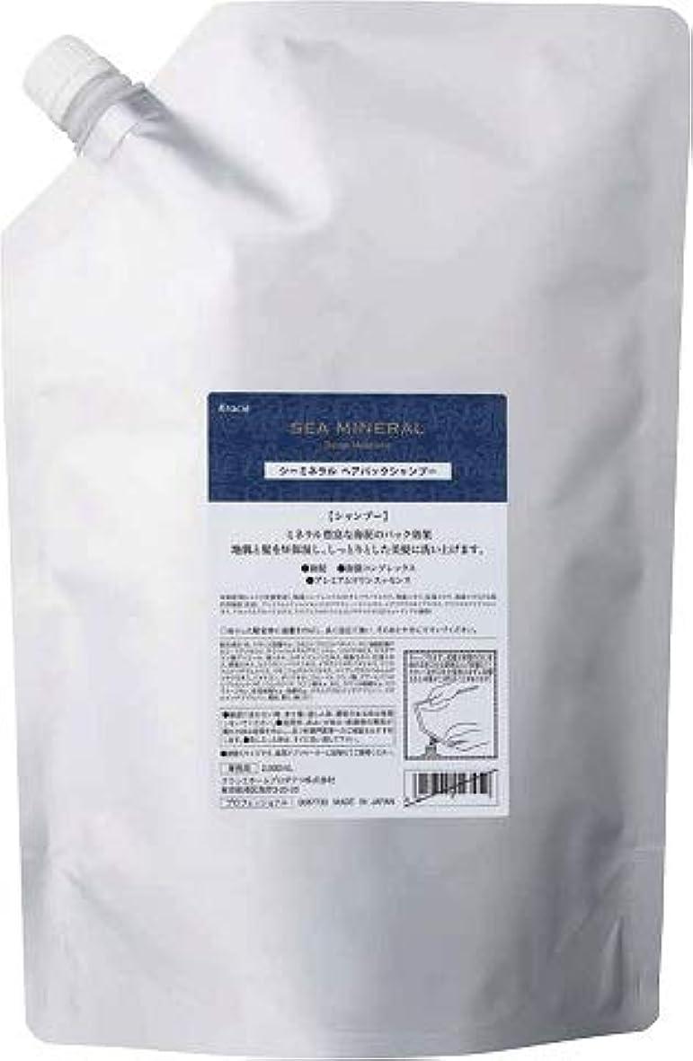 手荷物尾報酬kracie(クラシエ) SEA MINERAL シーミネラル シャンプー 2000ml 詰替え 容器1本サービス