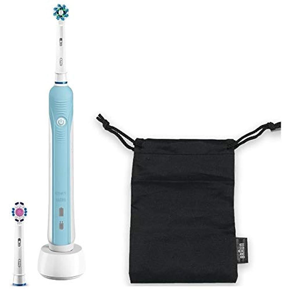 まっすぐにする宣教師創造ブラウン 電動歯ブラシBRAUN Oral-B(オーラルB) PRO500 D165231UAWN