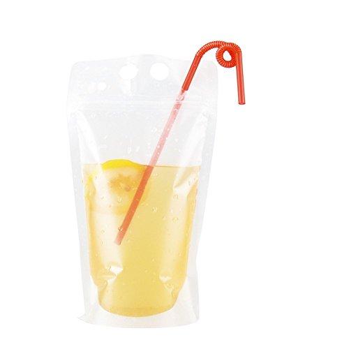 PChero プラスチック製の飲料バッグ DIY飲み物 酒袋...
