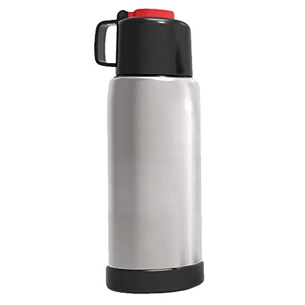 ジェームズダイソン付き添い人雪だるま大型スポーツウォーターボトル 2.2リットル BPAフリー プラスチック 軽量 巨大 水筒 漏れ防止 大容量 ウォータージャグコンテナ キャリーループ付き フィットネス キャンプ ハイキング ジム用 (ブラック)