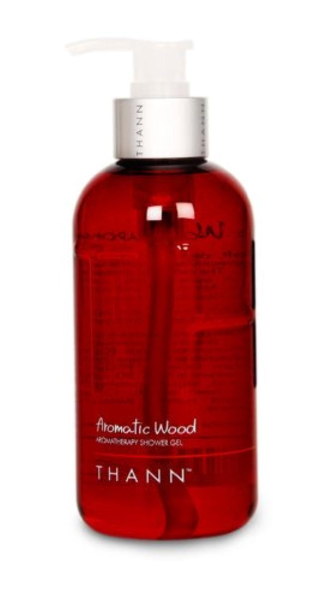 サンダース申し立てられた汗タン シャワージェルAW(Aromatic Wood) 320ml