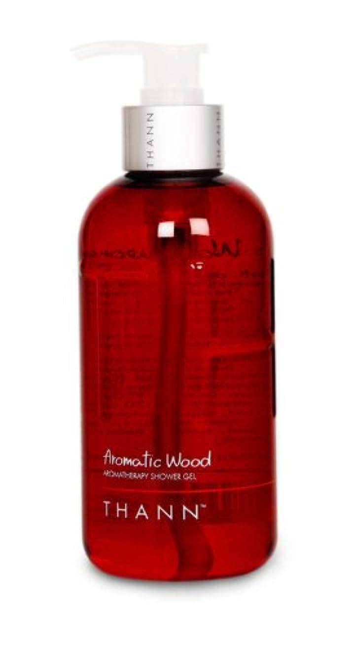 凍った露出度の高い取り組むタン シャワージェルAW(Aromatic Wood) 320ml