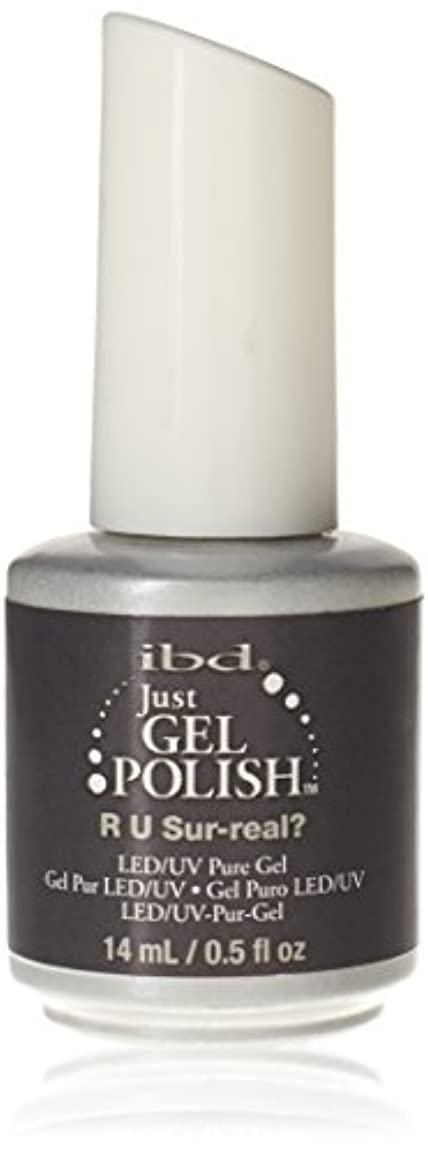 大腿組み合わせ油ibd Just Gel Nail Polish - R U Sur-Real? - 14ml / 0.5oz