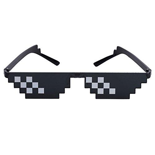 [KUQI](クキ) モザイクサングラス メガネ レンズあり...