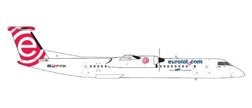 1: 200 ジェミニジェット Euro LOT Dash 8-400 (並行輸入)