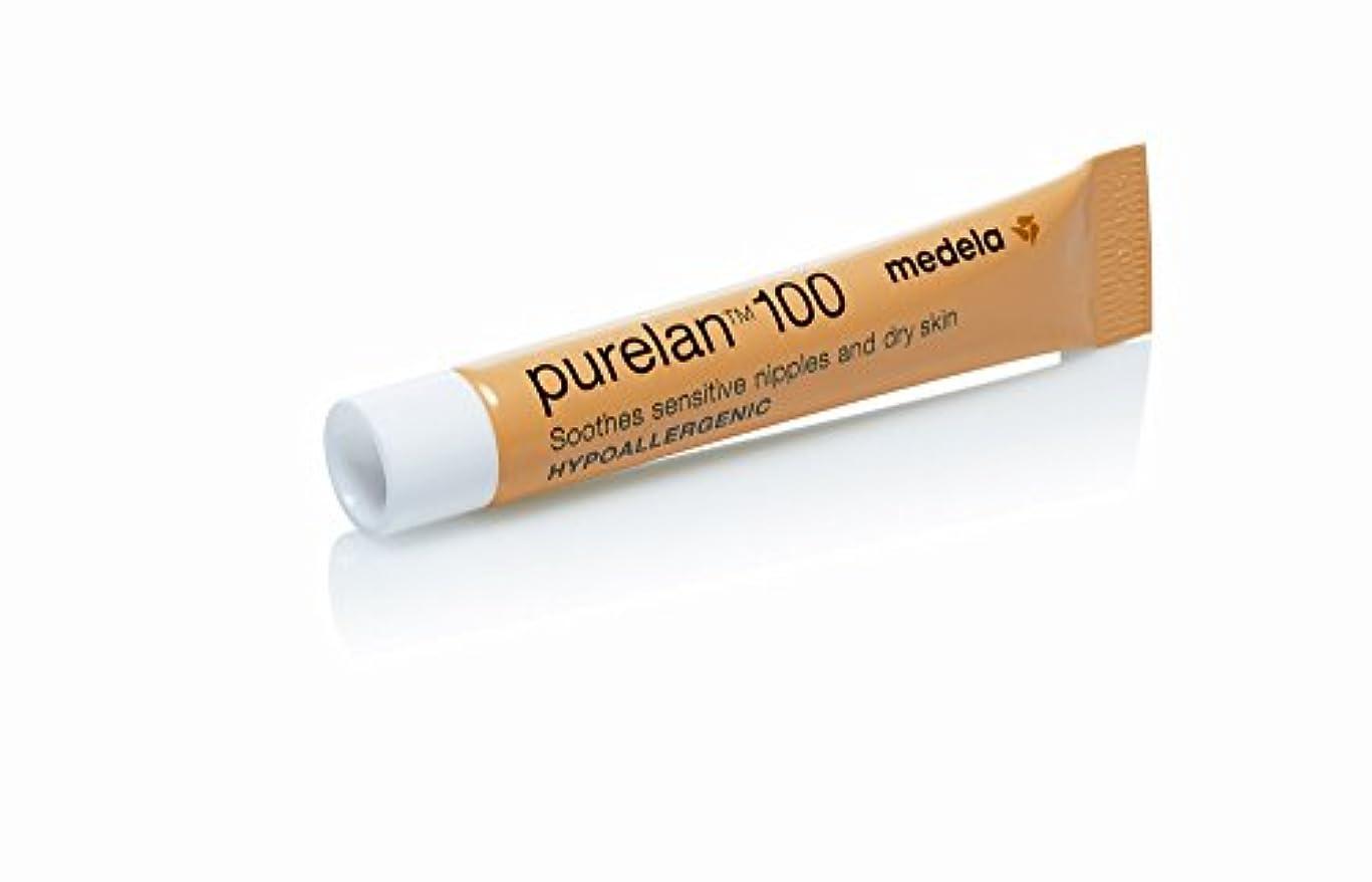 虚偽シーボードシャワーMedela メデラ 乳頭保護クリーム ピュアレーン100 7g 天然ラノリン 100% (008.0018)