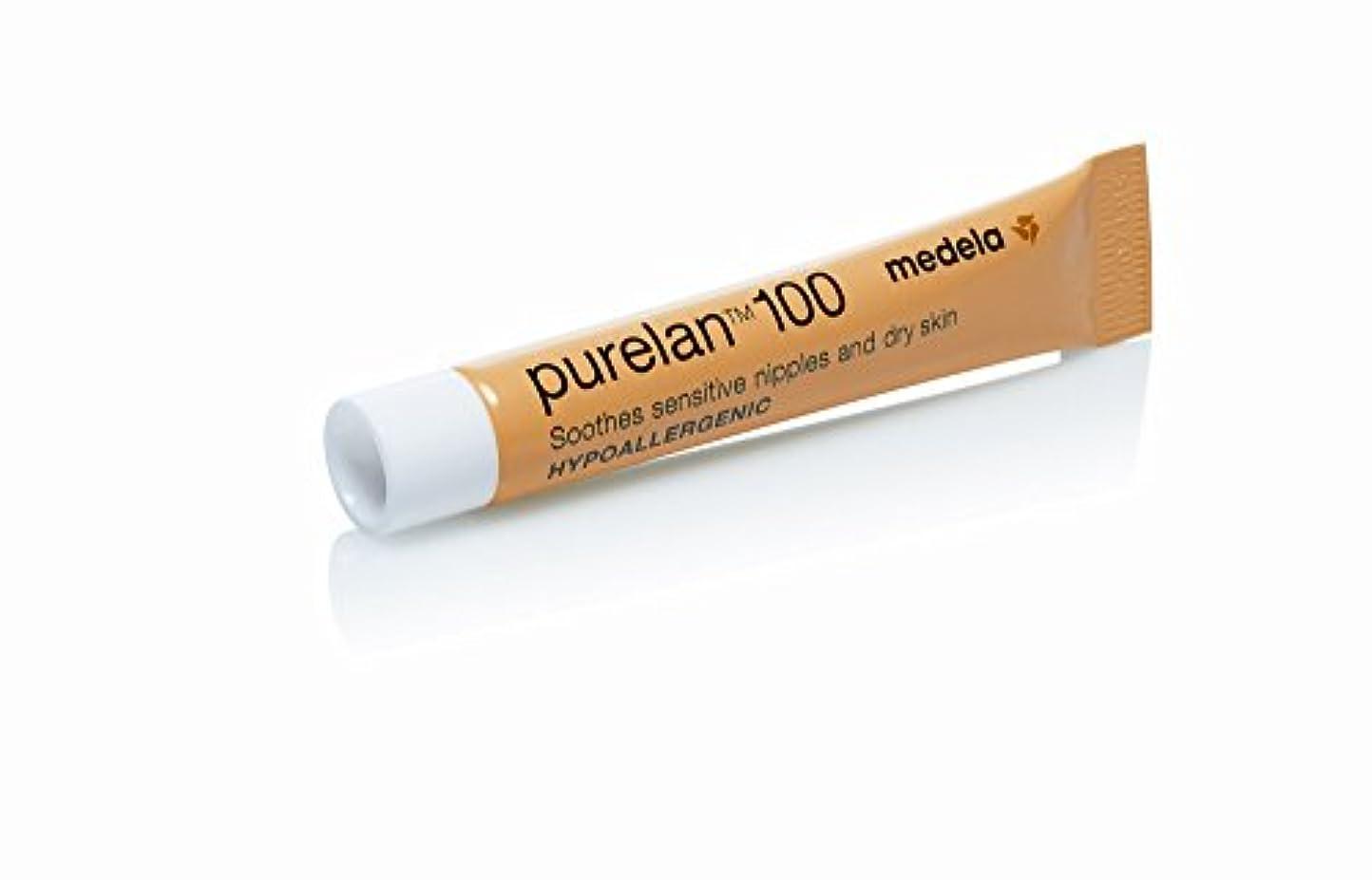 癌ケント勝利したMedela メデラ 乳頭保護クリーム ピュアレーン100 7g 天然ラノリン 100% (008.0018)