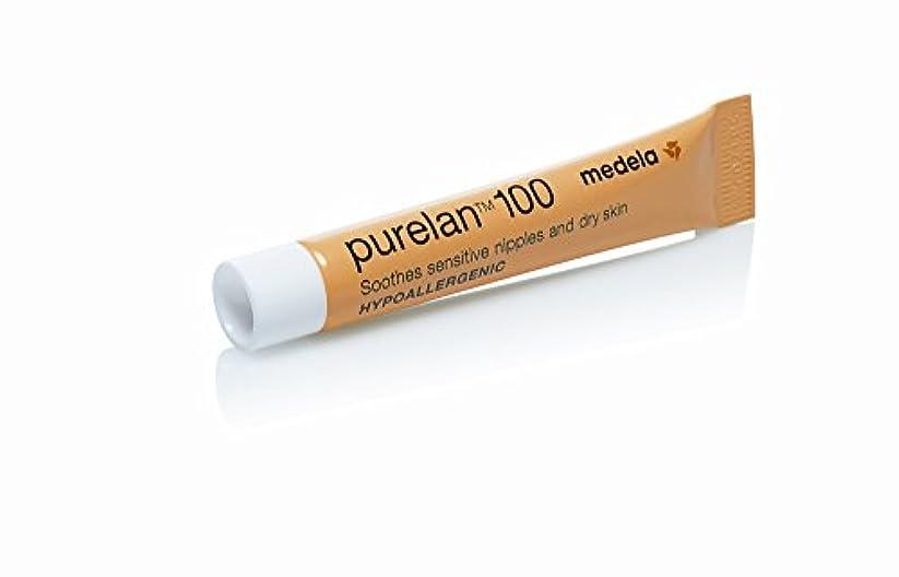息を切らしてコロニー縞模様のMedela メデラ 乳頭保護クリーム ピュアレーン100 7g 天然ラノリン 100% (008.0018)