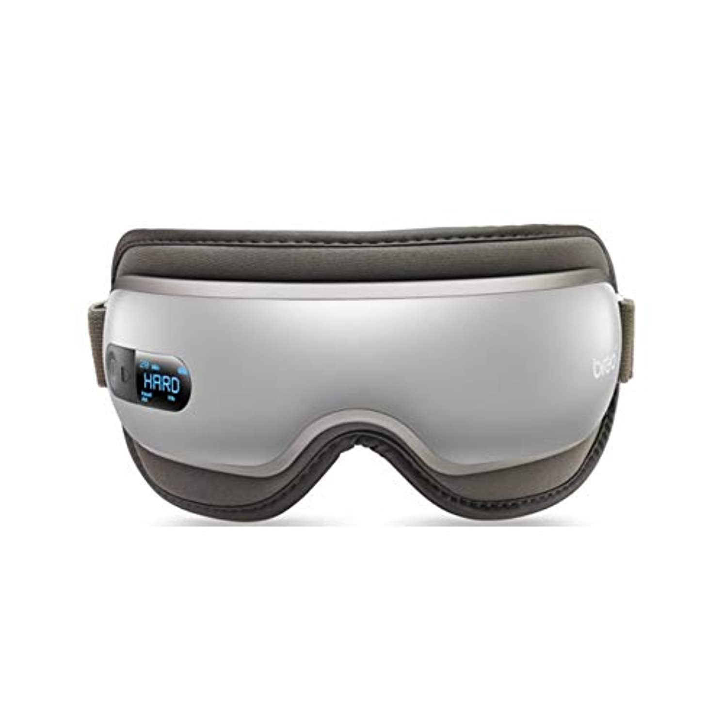 贈り物額権限Electric Eye Massager Vibration Heat Compression Massage Portable Foldable Rechargeable Eye Massager Built-in Music