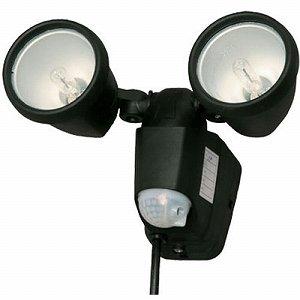 アイリスオーヤマ センサーライト 黒 点灯約5秒~5分タイプ