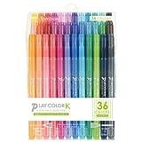 トンボ鉛筆 プレイカラーK 36色セット GCF-013