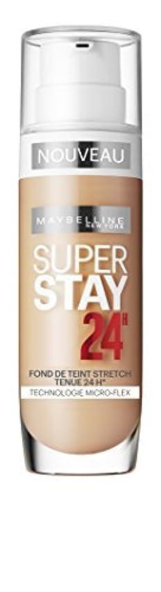 占める公爵酸素Maybelline Superstay 24H Foundation 30 Sand - foundation makeup (Sand, Combination skin, Dry skin, Normal skin...