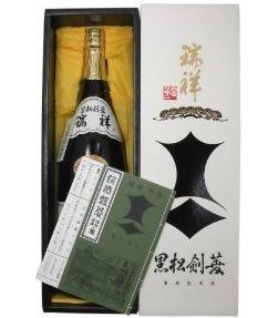 剣菱酒造 瑞祥黒松剣菱 箱入 1800ml