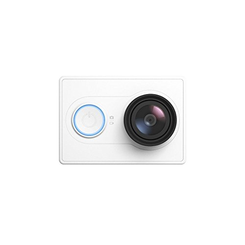 YI Technology アクションスポーツカメラ 16MP H.264 155°超広角 FHD1080P WIFI 4 Photo Mode for Android 4.1 IOS 7.0 Above Smartphone Basic Edition ホワイト 【並行輸入】