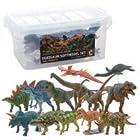 DINOSAUR SOFTMODEL 恐竜 ダイナソーソフトモデルセット C FDW-103 (73316)