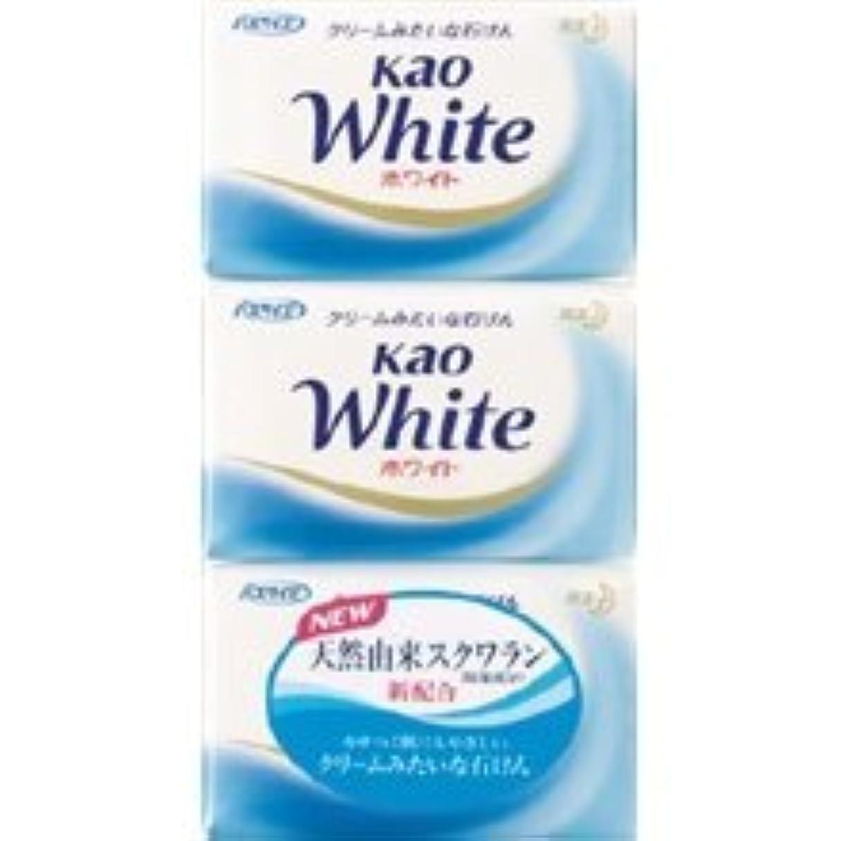 キャベツセンター七面鳥【花王】花王ホワイト バスサイズ (130g×3個) ×20個セット