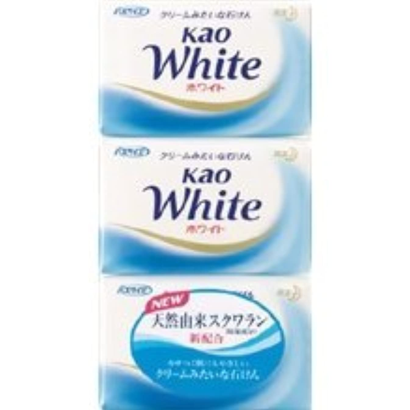 【花王】花王ホワイト バスサイズ (130g×3個) ×20個セット