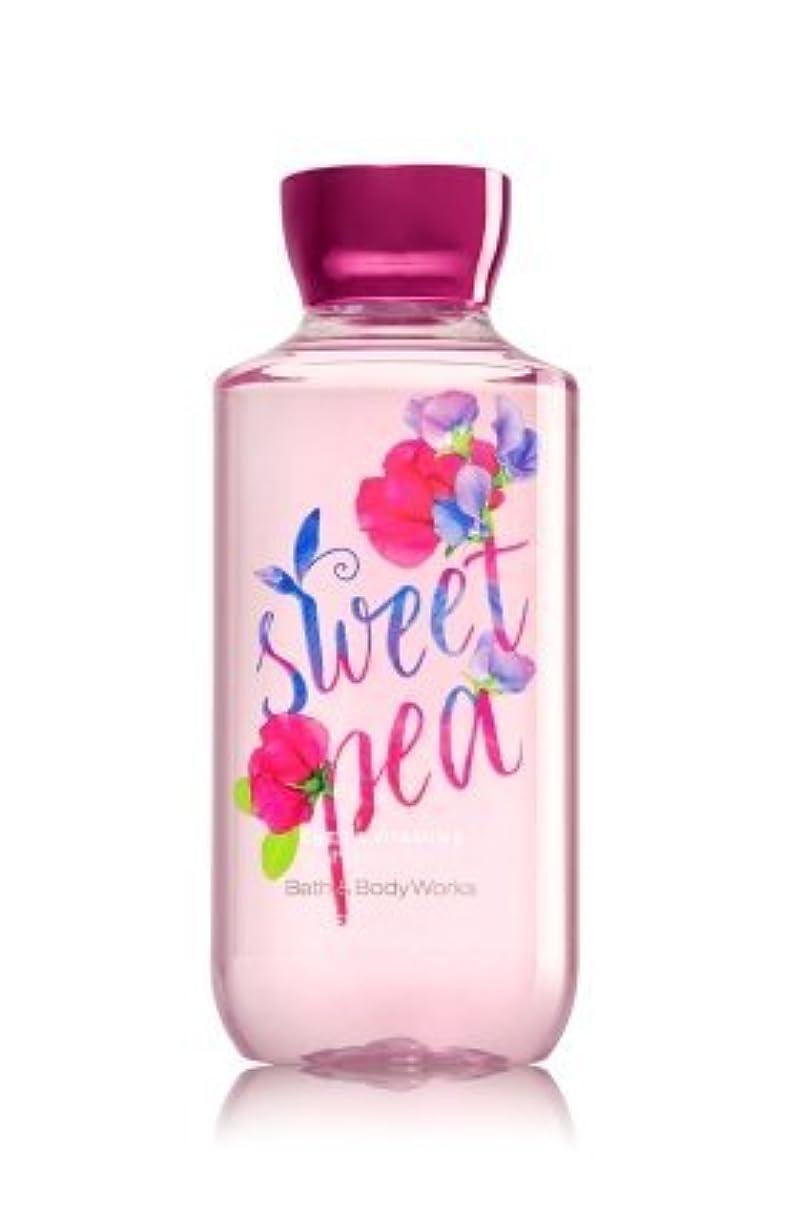 砦病的スポンジ【Bath&Body Works/バス&ボディワークス】 シャワージェル スイートピー Shower Gel Sweet Pea 10 fl oz / 295 mL [並行輸入品]