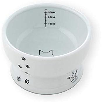 猫壱 ハッピーダイニング 脚付ウォーターボウル シリコン付き 猫柄