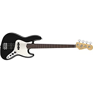 Fender フェンダー エレキベース AM STANDARD J BASS RW FL BLK