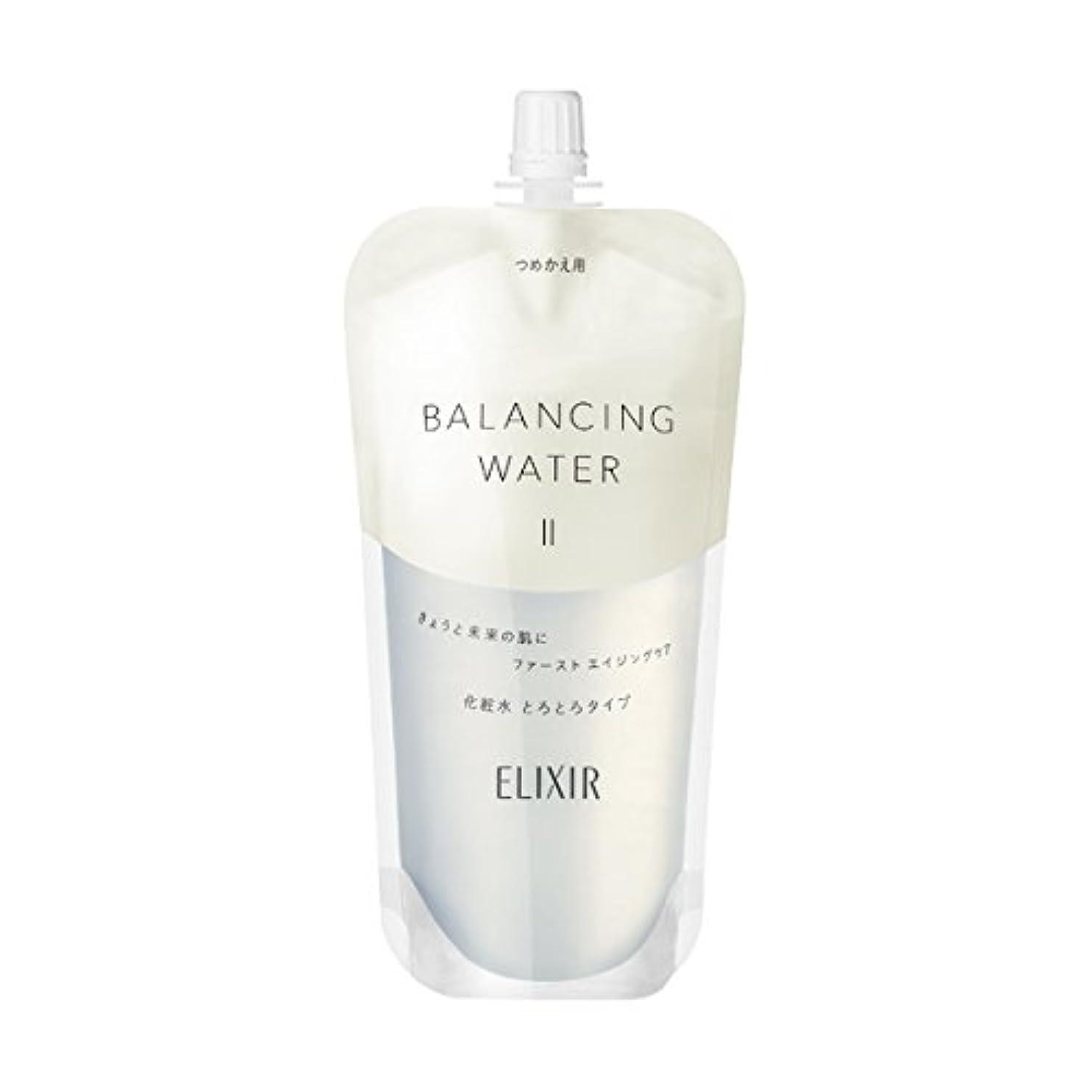 豊かにする異形神社エリクシール ルフレ バランシング ウォーター 化粧水 2 (とろとろタイプ) (つめかえ用) 150mL