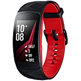 Samsung SM-R365NZRNXSA Gear Fit2 Pro Smart Fitness Band, Red