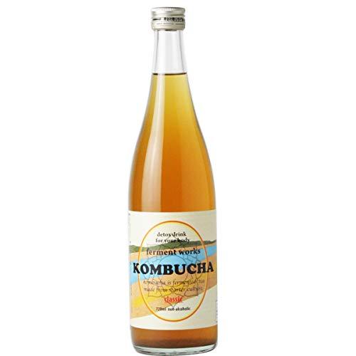 ferment works KOMBUCHA classic 720ml [国産無添加コンブチャ/紅茶キノコ]