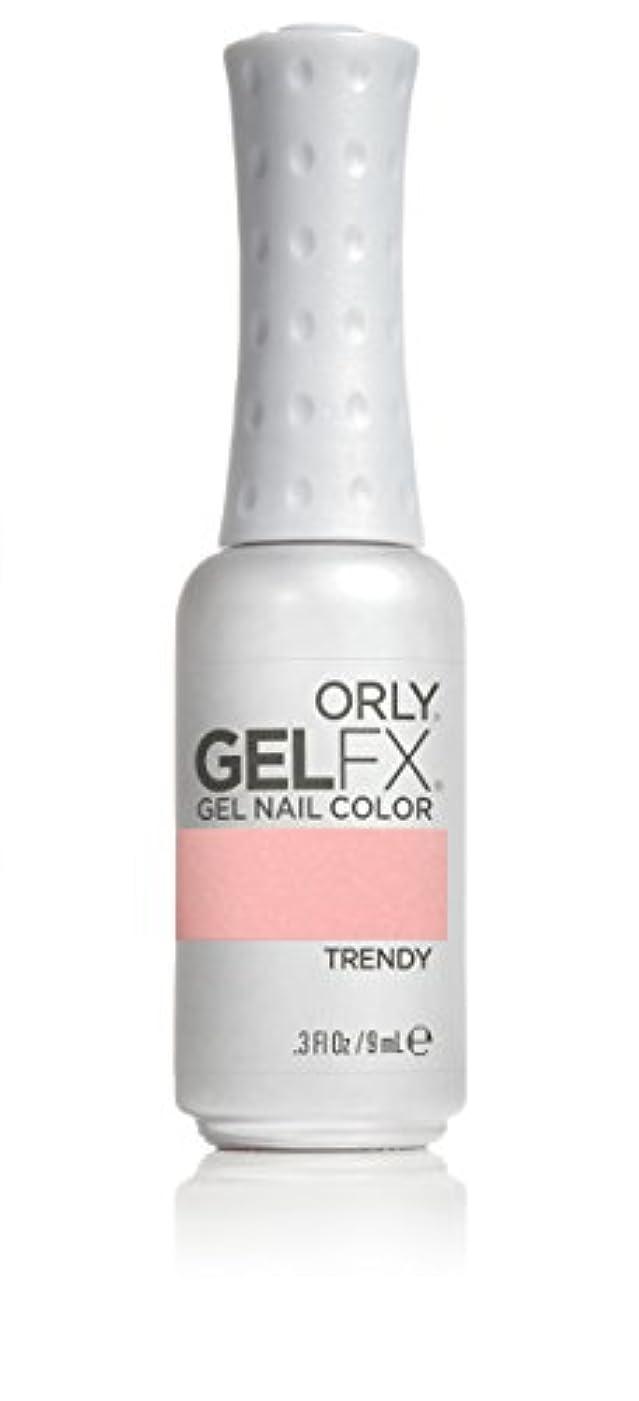 不測の事態マリナーシリングOrly GelFX Gel Polish - Trendy - 0.3oz/9ml