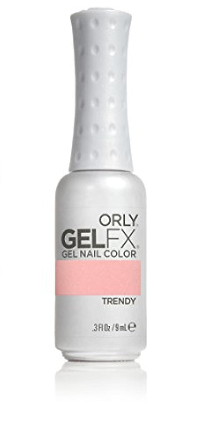 陰気小道駐地Orly GelFX Gel Polish - Trendy - 0.3oz/9ml