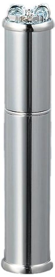 反逆者グラディスしなやか35121 メタルアトマイザーシルバー ラインストーンリボン