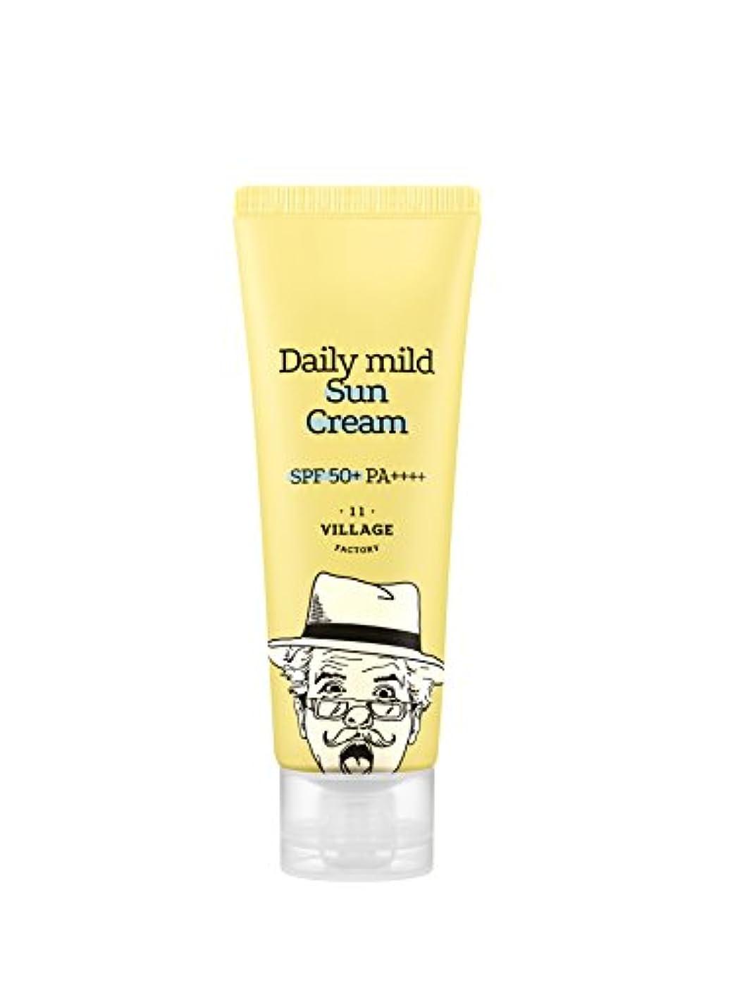 意気込み説得受け入れ[Village 11 Factory] デイリーマイルドサンクリームDaily mild suncream SPF50+ PA++++