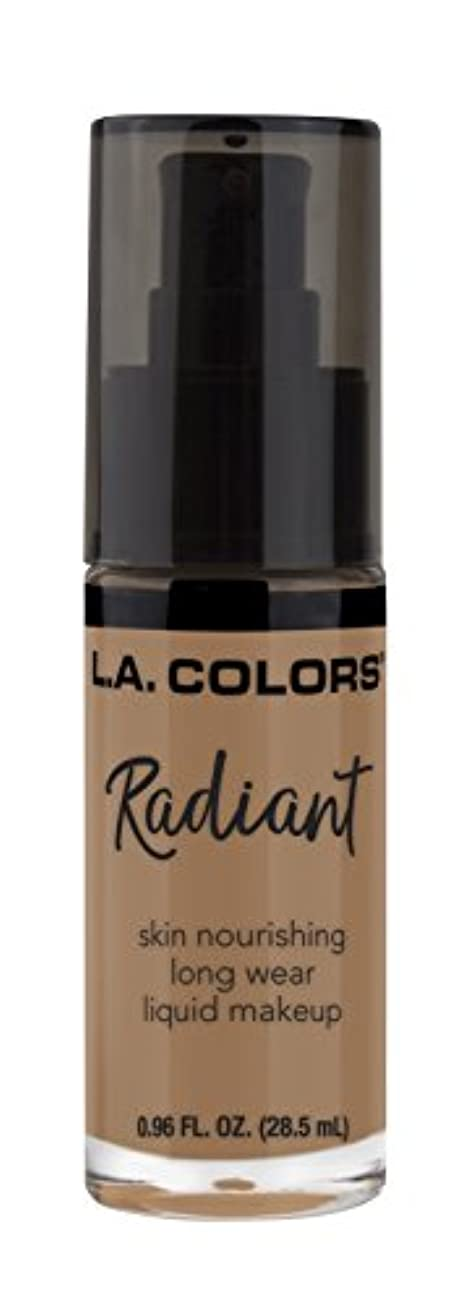 大型トラック整然とした小人L.A. COLORS Radiant Liquid Makeup - Creamy Cafe (並行輸入品)