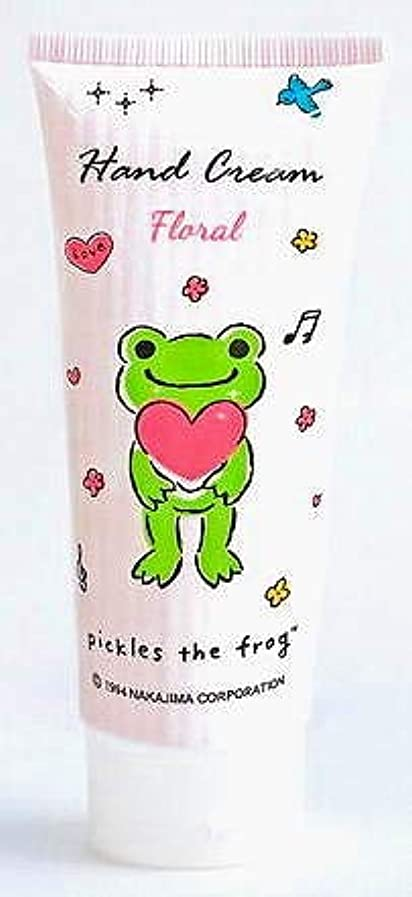 船尾工場十年◆【pickles the frog】◆かえるのピクルス ハンドクリーム<フローラル> 100ml◆